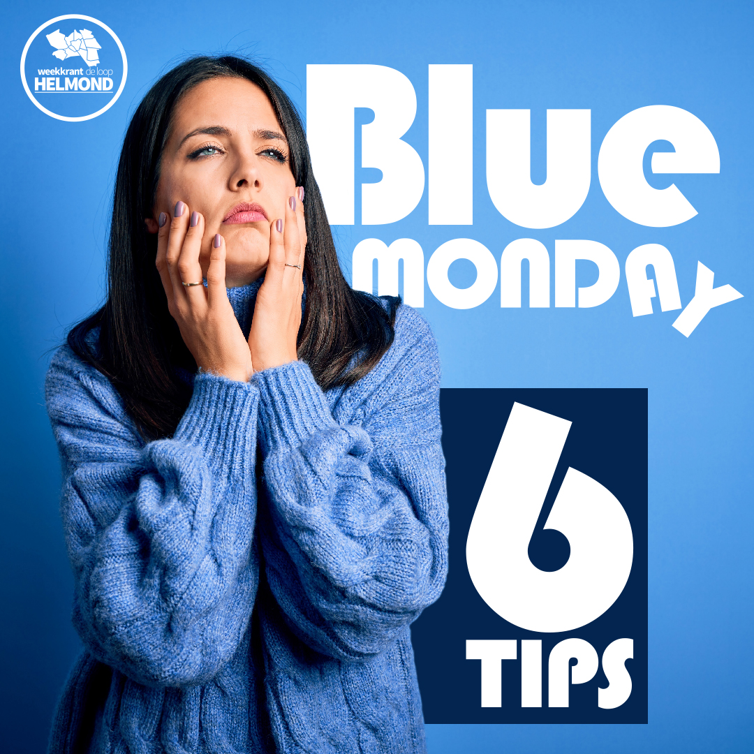 6 Tips om 'Blue Monday' door te komen